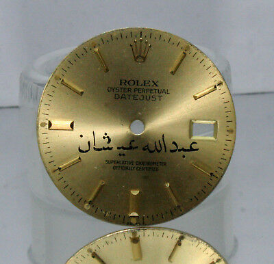 $ CDN460.05 • Buy ROLEX Oyster DateJust Champagne Arabic Name Dial 16013,16030,16014,16000,16233
