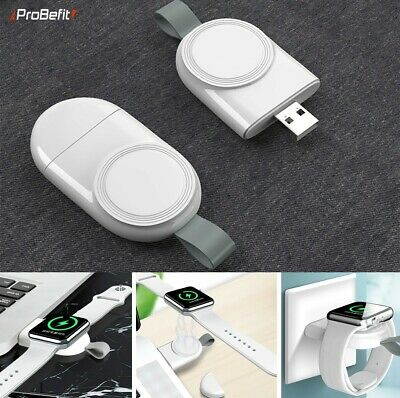 $ CDN9.68 • Buy Wireless Charger Son Fil For Apple Watch Series 6/5/4/3/2/1 Portable USB Iwatch
