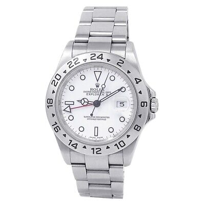 $ CDN9986.92 • Buy Rolex Explorer II Stainless Steel Oyster Automatic White Men's Watch 16570