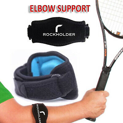 Tennis Elbow Support Brace Band For Gym Sport Golfers Pain Epicondylitis Strap ✅ • 2.99£