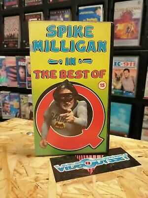 Spike Milligan In The Best Of Q VHS Video Tape • 8£