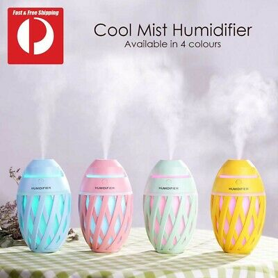 AU22.95 • Buy Aroma Aromatherapy Diffuser LED Oil Ultrasonic Air Humidifier Purifier Diffuser