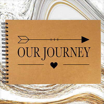 A3/A4/A5, Our Journey, Scrapbook, Guestbook, Photo Album, Card Pages, Gift • 6.99£