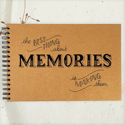 A3/A4/A5, Best Thing Memories, Scrapbook, Guestbook, Photo Album, Card Pages • 6.99£