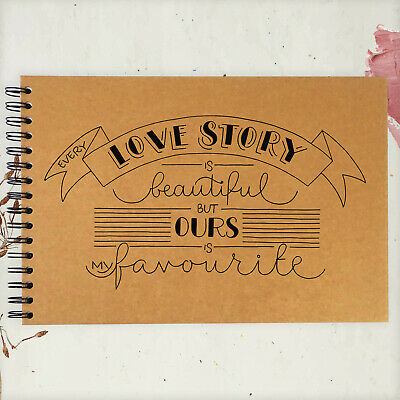A3/A4/A5, Every Story Love, Scrapbook, Guestbook, Photo Album, Card Pages, Gift • 6.99£