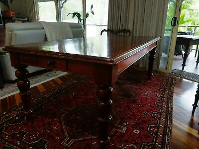 AU750 • Buy Antique Refectory Dining Kitchen Farmhouse Table.Seats 8