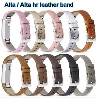 AU11.58 • Buy For Fitbit Alta / Alta HR Leather Band Strap Bracelet Wristband