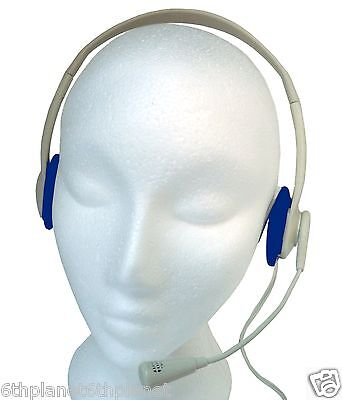 Light Weight Typhoon Multimedia / Skype Headset  With Boom Microphone • 6£