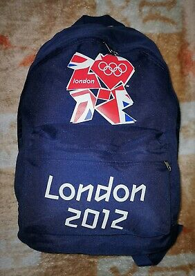 London 2012 Olympics Official Navy Rucksack • 13£