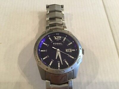 FOSSIL Mens Blue Dial Watch With Date. AM4087 GWO • 19.90£