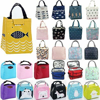 Cool Bags School Picnic Lunch Box Case Insulated Portable Small Thermal Food Bag • 5.89£