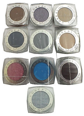 L'Oreal Color Infallible Eyeshadow  (10 Shades) • 2.99£