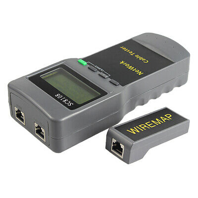 RJ45 Network Cable Tester Ethernet LAN PC Wire Length Testing Tool SC8108 . • 20.86£