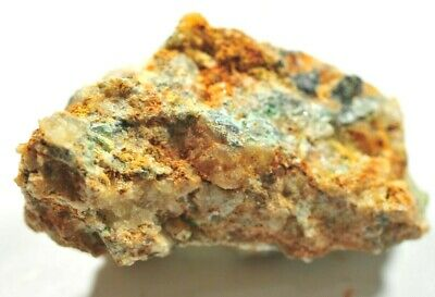 NATURAL SPECIMEN Of COPPER BASED MINERAL, ROUGHTON GILL, CUMBRIA, UK 5 Cm 56 Gms • 10.99£