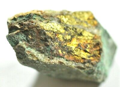 NATURAL SPECIMEN Of COPPER BASED MINERAL, ROUGHTON GILL, CUMBRIA, UK 4 Cm 38 Gms • 10.99£