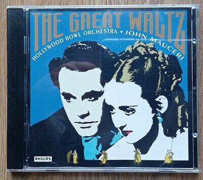 The Great Waltz - John Mauceri - Hollywood Bowl Orchestra. CD • 1.55£