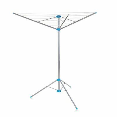 Minky Freestanding Indoor/Outdoor Airer With 15 M Drying Space, Metal, Silver • 34.99£