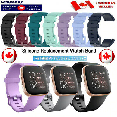$ CDN6.90 • Buy  For Fitbit Versa 2 Lite Replacement Band Silicone Sports Strap Watch Wristband