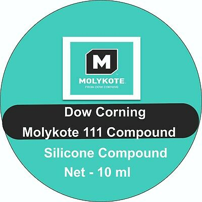 Dow Corning Molykote 111 Silicone Grease For Rubber And Plastic O Rings ,Valves  • 3.69£