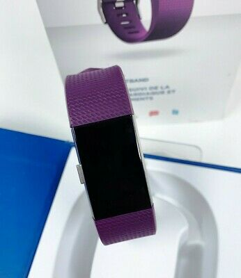 $ CDN70.60 • Buy Fitbit Charge 2 Heart Rate & Activity Tracker - Large / Plum (USED)