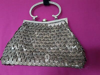 Leko London Chinese Good Luck Coin Costume Bag Removable Shoulder Strap RRP £30 • 9£