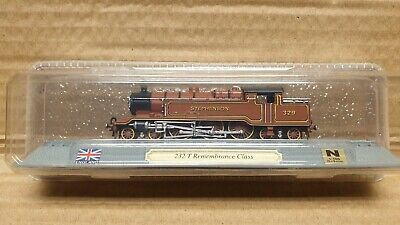 232 T Remembrance Class UK Del Prado Locomotives Of The World N Gauge Ref #78 • 4.95£