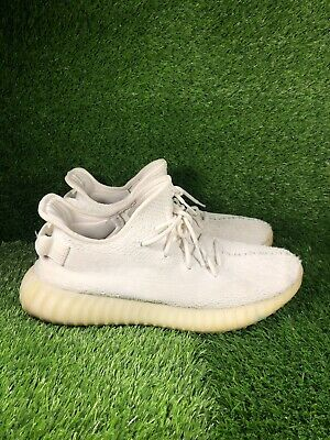 $ CDN294.97 • Buy Adidas Yeezy Boost 350 V2 Cream Triple White Mens Size 11.5 Used CP9366