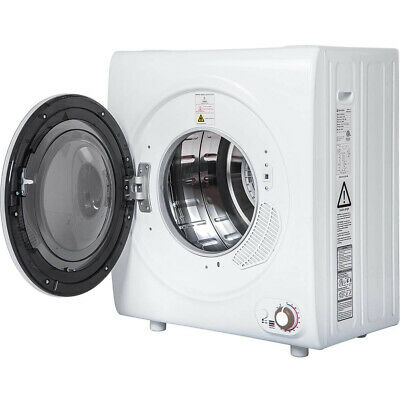 View Details Electric 2.65 Cu.Ft Compact Tumble Dryer 9 LBS Capacity Steel Wall Mounted • 379.99$