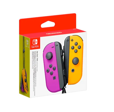 AU105 • Buy Nintendo Switch Joy Con Controller Pair - Neon Purple And Neon Orange