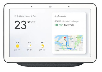 AU105 • Buy Google Nest Hub - Charcoal