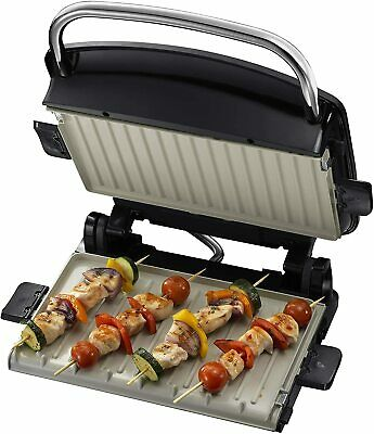 George Foreman 22160 Medium Removable Plates Grill Panini Press Sandwich Toaster • 100.74£