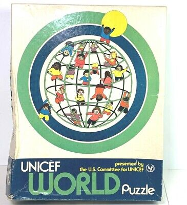 $ CDN43.84 • Buy UNICEF World Puzzle Jigsaw 200 Pieces-Vintage Complete
