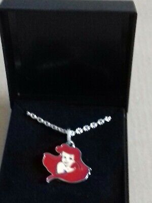 Disney Princess Necklace  NEW. ARIEL   Gift Boxed. FREE POSTAGE • 2.99£