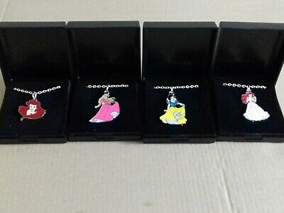 4 Disney Princess Necklaces. New. Gift Boxed • 3.99£