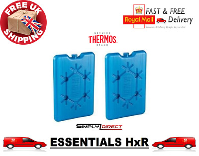 1 X Thermos Freeze Board Ice Pack Block 200g For Cool Bag Chill Box Cooler • 2.99£