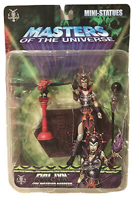 $124.95 • Buy NECA Masters Of The Universe Evil Lyn Mini Statue Series 5 MOTU Staction 2007