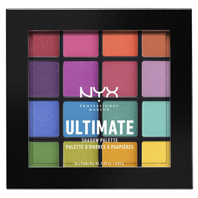 AU21.90 • Buy Nyx Professional Makeup Ultimate Shadow Palette Eyeshadow Brights Eye Cosmetics