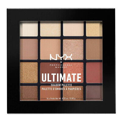 AU21.90 • Buy Nyx Professional Makeup Ultimate Shadow Palette Eyeshadow Warm Neutrals Cosmetic