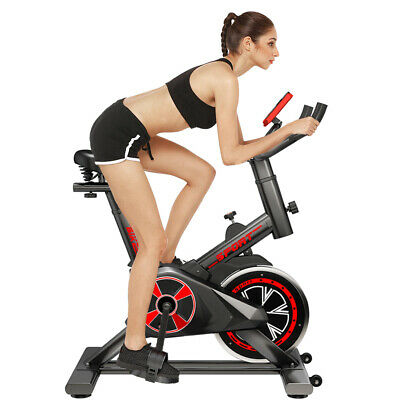 PRO Indoor Training Exercise Bike Fitness Home Gym - 8KG Flywheel Bicycle • 124.99£
