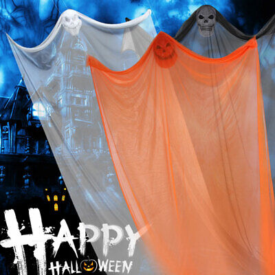 $15.39 • Buy Halloween Decoration Hanging Ghost 3.3m Cloaks Haunted House Bar Party Supplies