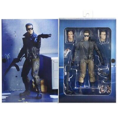 £41.24 • Buy NECA T-800 Terminator Police Station Assault 7  Ultimate Action Figure Official