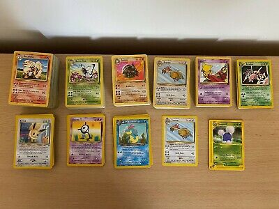 1st And 2nd Gen Pokemon Cards: BS, Jun, Fos, BS2, TR And More! Common & Uncommon • 1£
