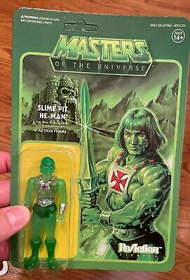$41.99 • Buy New Rare Vhtf Super7 Reaction Slime Pit He-man Masters Of The Universe Motu Look