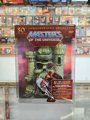 $271.88 • Buy Masters Of The Universe 30th Commemorative Anniversary Collection! Motu DVD Set