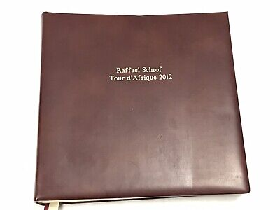Aspinal Of London Huge Photo Album For Re-purpose Special Occasion Leather Bound • 74.99£