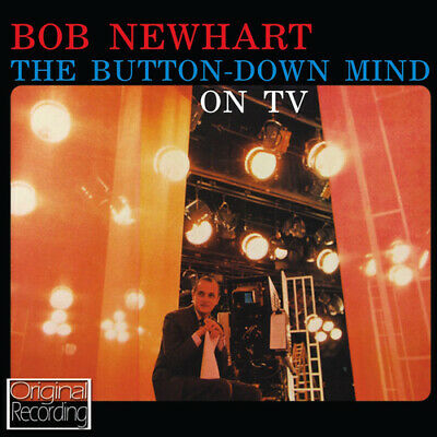 Bob Newhart : The Button-down Mind On TV CD (2013) Expertly Refurbished Product • 5.38£