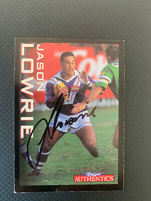 AU4.99 • Buy @ Signed Rugby League Superstars Authentics Signed Jason Lowrie