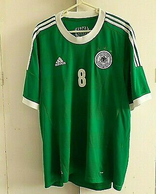 Adidas Germany Away Football Shirt # 8 Ozil Size XXL • 11.50£