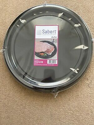 10 X Round Disposable Buffet Platters • 9.99£