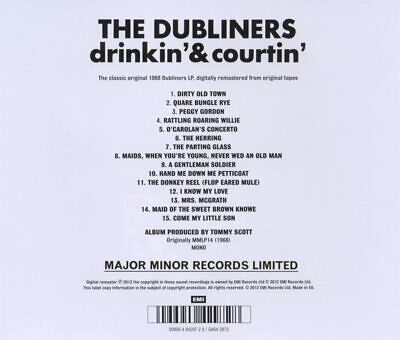 The Dubliners - Drinkin' & Courtin' - The Dubliners CD - New Sealed • 3.99£